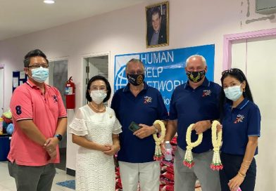Rotary Club Eastern Seaboard presented face masks to HHNFT