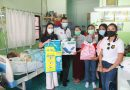 Rotary Club of Pattaya Marina donated Air Mattresses and needed care bags to bedridden